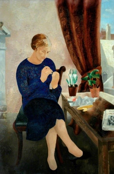 Christopher John Wood (1901-1930) The Manicure (1929)