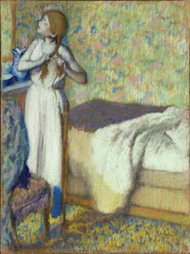 Edward Degas (1834-1917) Morning Toilette (1894)