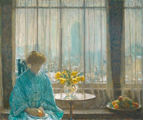 Frederick Hassam (1859–1935) The Breakfast Room (1911)