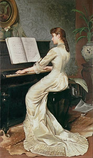 George Hamilton Barrable (1873-1890) A song without words (1888)