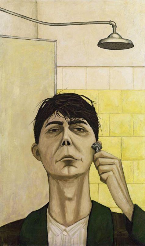 John Brack Australian (1920-1999) Morning Shave (1955)