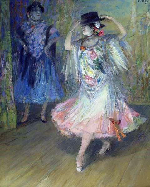 Roig y Soler, Juan (1867-1904) Spanish dancer (1890)